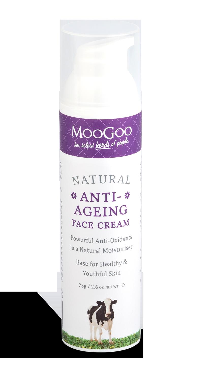 Moo Goo - Anti Aging Face Cream - The Grain Grocer